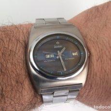 Relojes automáticos: RELOJ ZODIAC 36000 BPH AUTOMÁTICO ACERO GRAN TAMAÑO. Lote 149972166