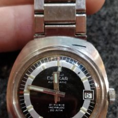 Relojes automáticos: RELOJ DELKAR AUTOMATIC, 21 RUBÍS , INCABLOC, 20ATM. Lote 150086002