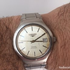 Relojes automáticos: RELOJ VINTAGE LONGINES AUTOMÁTICO DE LOS ANOS 80. Lote 150616400