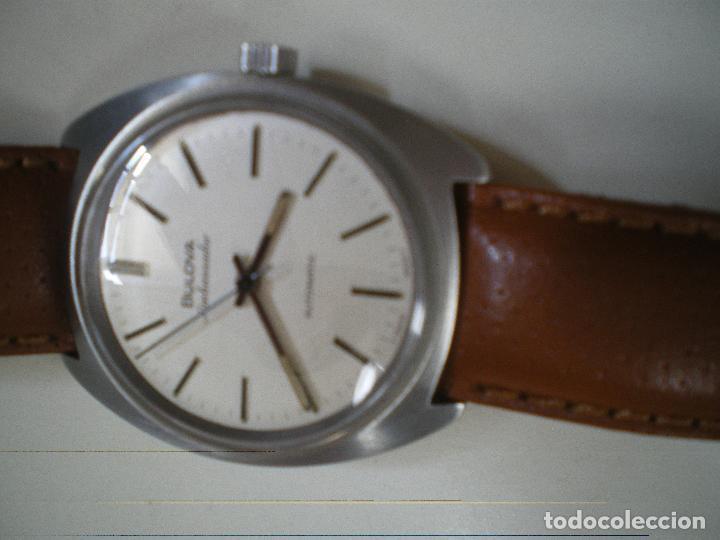 Relojes automáticos: RELOJ BULOVA AMBASSADOR AUTOMÁTICO - Foto 6 - 151119074
