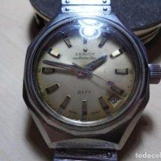 Relojes automáticos: MAGNIFICO ANTIGUO RELOJ ZENITH DEFY AUTOMATICO DE CABALLERO FUNCIONANDO. Lote 152068981