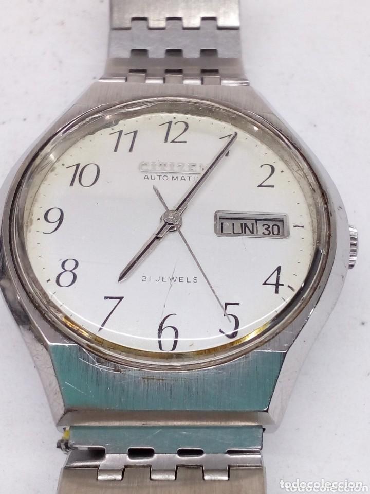 Relojes automáticos: reloj citizen automatico funcionando - Foto 5 - 151364418