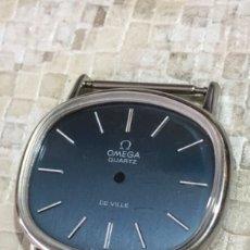 Relojes automáticos: CAJA RELOJ OMEGA DE VILLE ESFERA AZUL NUEVA CON CRISTAL NUEVA.. Lote 151656009