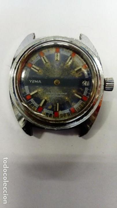 RELOJ YEMA AUTOMÁTICO (NO FUNCIONA) (Relojes - Relojes Automáticos)