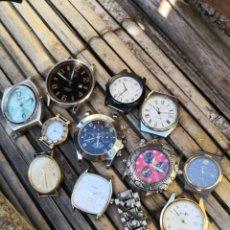 Relojes automáticos: LOTE RELOJES VARIOS PIEZAS O REPARACION. Lote 151999268