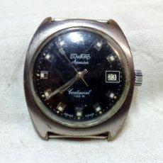 Relojes automáticos: RELOJ CABALLERO DUWARD AQUASTAR AUTOMATIC CONTINUAL 100 M. EN FUNCIONAMIENTO.. Lote 152105666