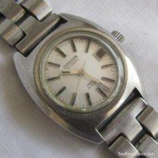 Relojes automáticos: RELOJ DE SEÑORA CITIZEN AUTOMÁTICO FUNCIONANDO. Lote 153536490