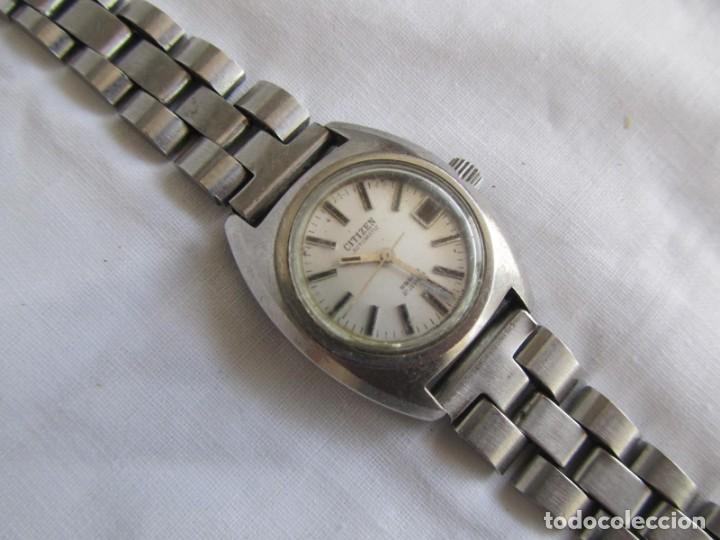 Relojes automáticos: Reloj de señora Citizen automático funcionando - Foto 2 - 153536490
