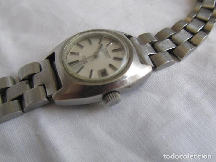 Relojes automáticos: Reloj de señora Citizen automático funcionando - Foto 3 - 153536490