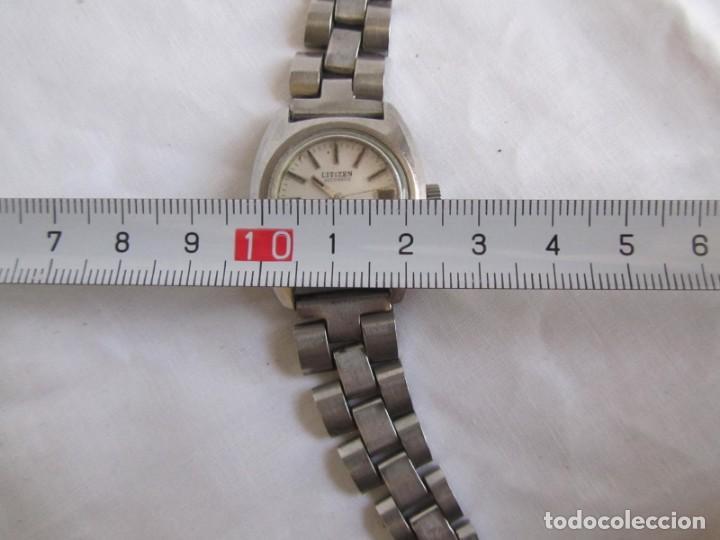 Relojes automáticos: Reloj de señora Citizen automático funcionando - Foto 5 - 153536490