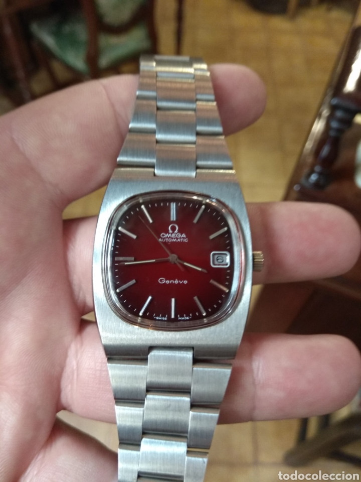 Relojes automáticos: Reloj Omega Automatic Acero - Nuevo - Nunca Usado - - Foto 13 - 153602457
