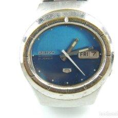 Relojes automáticos: EXCELENTE RELOJ DE PULSERA SEIKO 5 AUTOMATICO DE LOS AÑOS 70´S 21 JEWELS. Lote 153854058