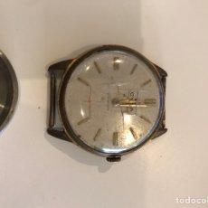 Relojes automáticos: ANTIGUO RELOJ CIMA CIMAFLES CHAPADO ORO COLECCIONISTA 17 JEWELS SWISS. Lote 154113938