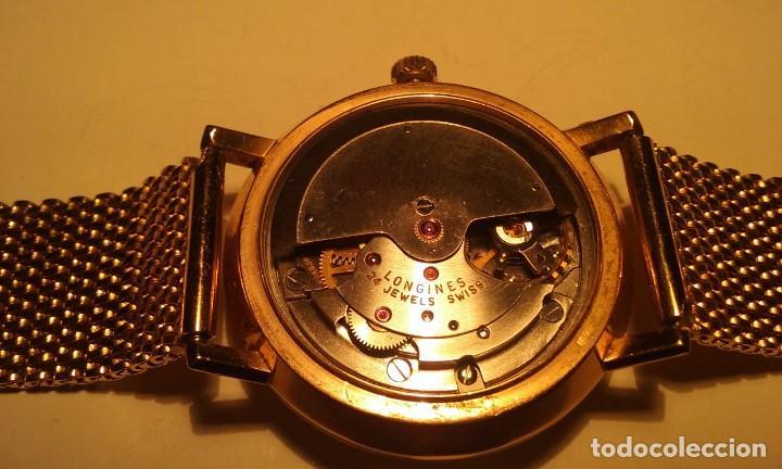 Relojes automáticos: RELOJ LONGINES EN ORO MACIZO DE 18 KILATES/750mm AUTOMATICO Y ANTIGUO - Foto 19 - 155327270