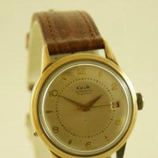Relojes automáticos: KULM AUTOMATIC CAMBIO RAPIDO CALENDARIO POR BOTON CLASICO. Lote 155339722