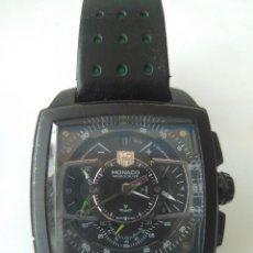 Relojes automáticos: RELOJ TAG HEUER MÓNACO CONCEPT CHRONOGRAPH SWISS MADE SINCE 1860. Lote 155607326