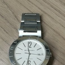 Relojes automáticos: BVLGARI AUTOMATIC WHITE DIAL STAINLESS STEEL MEN'S WATCH 42MM. Lote 155817746