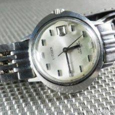Relojes automáticos: GRAN CITIZEN AUTOMATICO 23 RUBIS ACERO INOXIDABLE FUNCIONA PERFECTO LOTE WATCHES. Lote 155986414