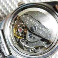 Relojes automáticos: SEIKO DE ALTISIMA CALIDAD AUTOMATICO ACERO INOXIDABLE FUNCIONA LOTE WATCHES. Lote 155993130