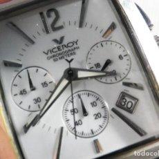 Relojes automáticos: SEÑORIAL VICEROY 47411 CRONOGRAFO WR 50M ACERO INOX FUNCIONA PERFEC LOTE WATCHES. Lote 155999726