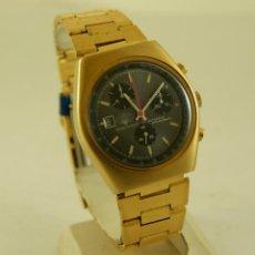Relojes automáticos: RARO MIKADO AUTOMATIC CHRONOGRAPH NOS CON ETIQUETAS CALIBRE JGRK TDB 1369. Lote 156595698