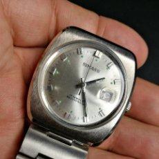 Relojes automáticos: RELOJ DE PULSERA SIMASS 17 JEWELS SHOCKPROOF-NUEVO SIN USO DE FONDO TALLER-TIENDA. Lote 161080613
