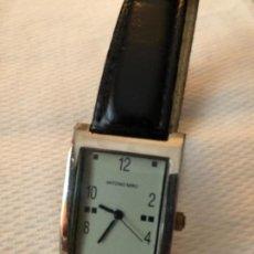 Relojes automáticos: RELOJ DE PULSERA MARCA ANTONIO MIRÓ ,MADE IN SWISS 3 MICRAS PLATED. Lote 158362570
