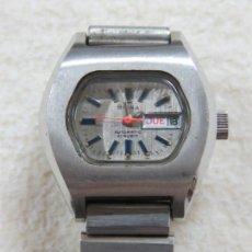 Relojes automáticos: BONITO RELOJ AUTOMATICO DE 21 JOYAS SUIZO MARCA BRINA CON CALENDARIO, FUNCIONA PERFECTO, ANTIGUO. Lote 158380226