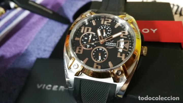 Relojes automáticos: Una leyenda de reloj deportivo ,de quartz, Viceroy colección Fernando Alonso F1, GRANDE,precioso - Foto 10 - 158473950