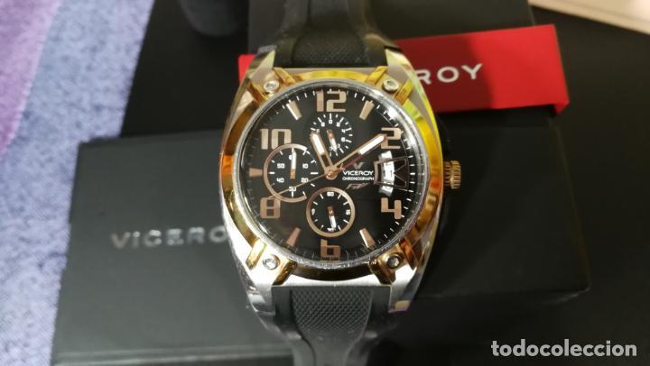 Relojes automáticos: Una leyenda de reloj deportivo ,de quartz, Viceroy colección Fernando Alonso F1, GRANDE,precioso - Foto 11 - 158473950