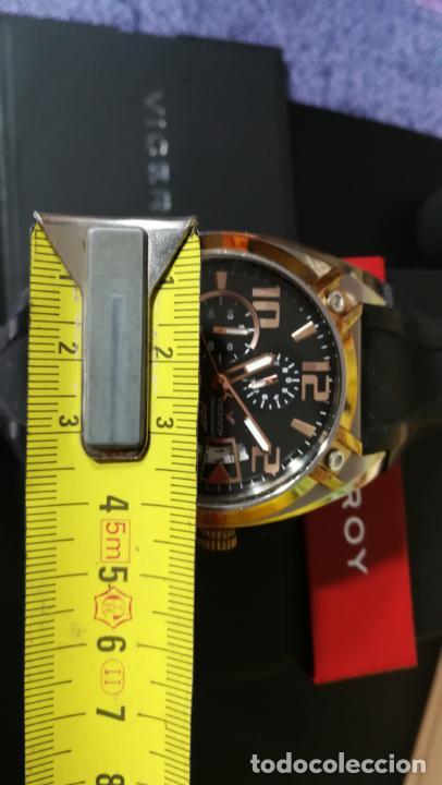 Relojes automáticos: Una leyenda de reloj deportivo ,de quartz, Viceroy colección Fernando Alonso F1, GRANDE,precioso - Foto 12 - 158473950