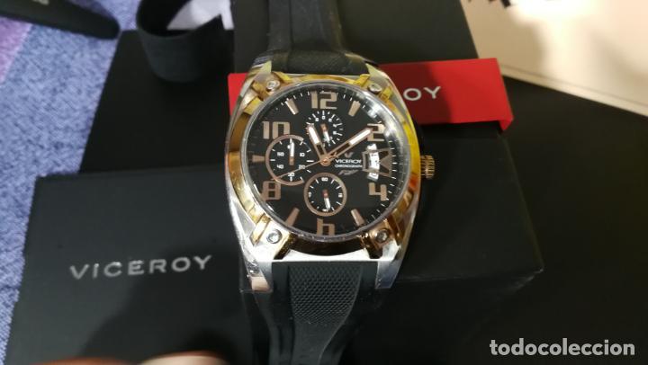 Relojes automáticos: Una leyenda de reloj deportivo ,de quartz, Viceroy colección Fernando Alonso F1, GRANDE,precioso - Foto 14 - 158473950