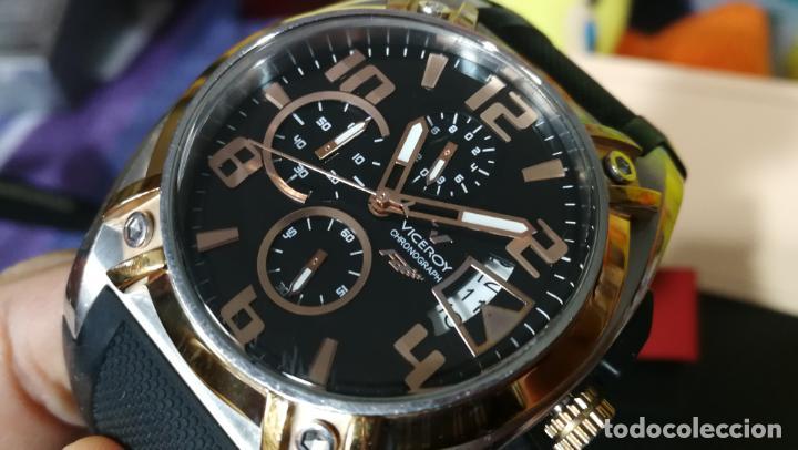 Relojes automáticos: Una leyenda de reloj deportivo ,de quartz, Viceroy colección Fernando Alonso F1, GRANDE,precioso - Foto 15 - 158473950