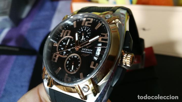 Relojes automáticos: Una leyenda de reloj deportivo ,de quartz, Viceroy colección Fernando Alonso F1, GRANDE,precioso - Foto 16 - 158473950