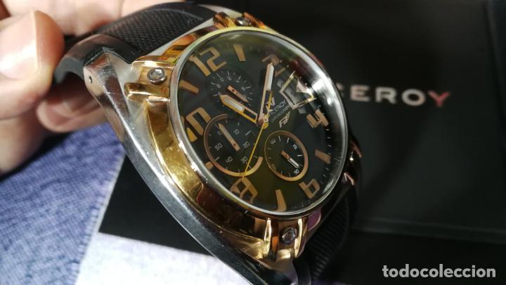 Relojes automáticos: Una leyenda de reloj deportivo ,de quartz, Viceroy colección Fernando Alonso F1, GRANDE,precioso - Foto 17 - 158473950