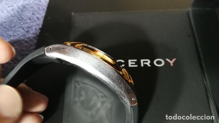 Relojes automáticos: Una leyenda de reloj deportivo ,de quartz, Viceroy colección Fernando Alonso F1, GRANDE,precioso - Foto 20 - 158473950