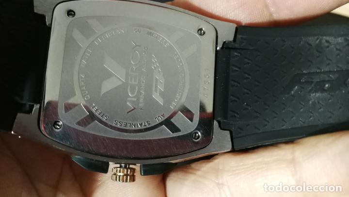 Relojes automáticos: Una leyenda de reloj deportivo ,de quartz, Viceroy colección Fernando Alonso F1, GRANDE,precioso - Foto 22 - 158473950