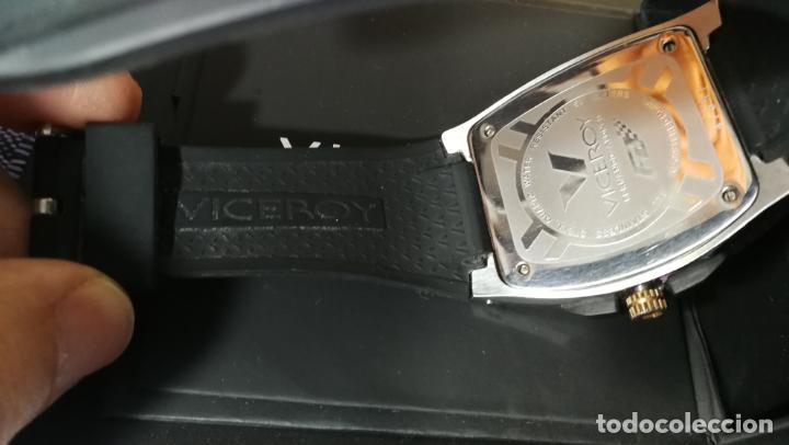 Relojes automáticos: Una leyenda de reloj deportivo ,de quartz, Viceroy colección Fernando Alonso F1, GRANDE,precioso - Foto 24 - 158473950