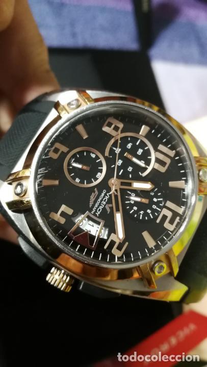 Relojes automáticos: Una leyenda de reloj deportivo ,de quartz, Viceroy colección Fernando Alonso F1, GRANDE,precioso - Foto 26 - 158473950