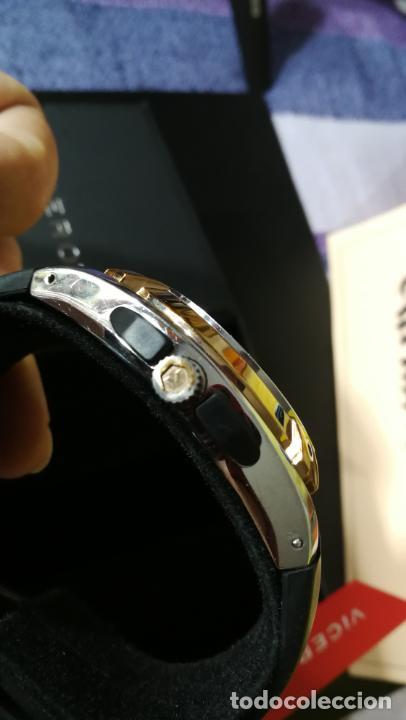 Relojes automáticos: Una leyenda de reloj deportivo ,de quartz, Viceroy colección Fernando Alonso F1, GRANDE,precioso - Foto 27 - 158473950