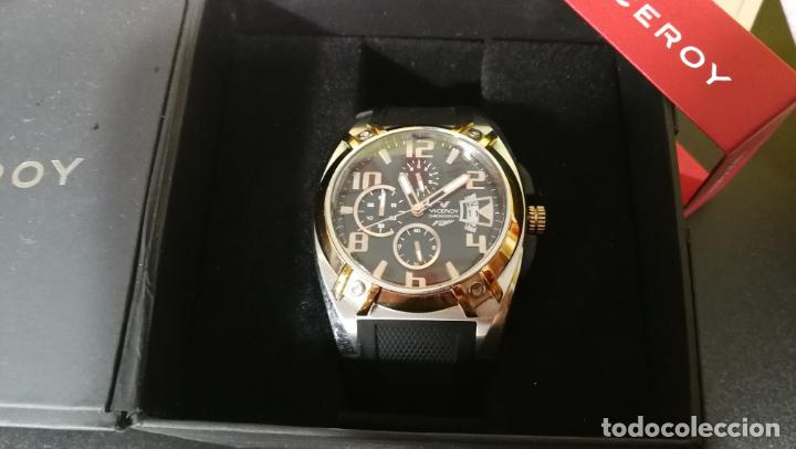 Relojes automáticos: Una leyenda de reloj deportivo ,de quartz, Viceroy colección Fernando Alonso F1, GRANDE,precioso - Foto 28 - 158473950