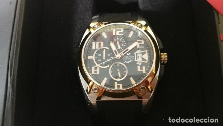 Relojes automáticos: Una leyenda de reloj deportivo ,de quartz, Viceroy colección Fernando Alonso F1, GRANDE,precioso - Foto 29 - 158473950