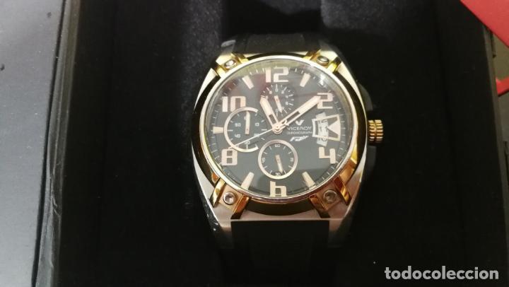 Relojes automáticos: Una leyenda de reloj deportivo ,de quartz, Viceroy colección Fernando Alonso F1, GRANDE,precioso - Foto 30 - 158473950