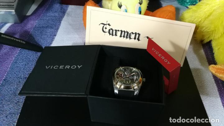 Relojes automáticos: Una leyenda de reloj deportivo ,de quartz, Viceroy colección Fernando Alonso F1, GRANDE,precioso - Foto 8 - 158473950