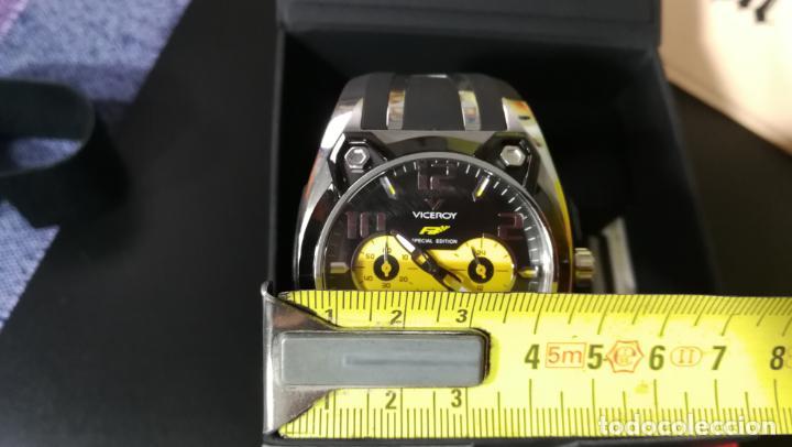 Relojes automáticos: RELOJ DEPORTIVO ,DE QUARTZ, VICEROY COLECCIÓN FERNANDO ALONSO F1, GRANDE, EDICIÓN ESPECIAL - Foto 15 - 158479642