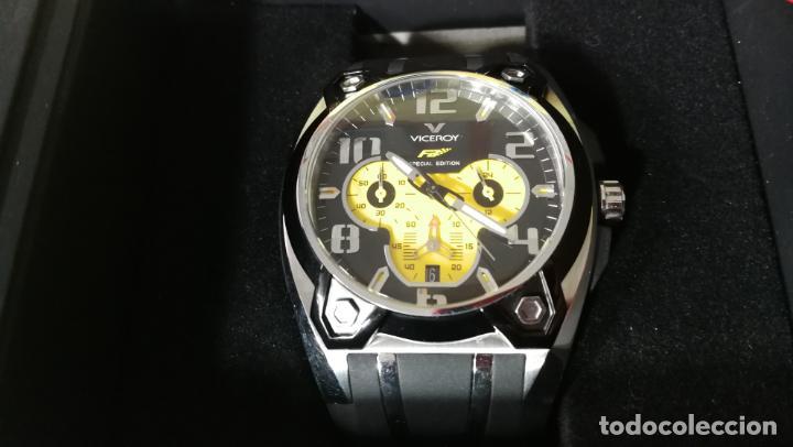 Relojes automáticos: RELOJ DEPORTIVO ,DE QUARTZ, VICEROY COLECCIÓN FERNANDO ALONSO F1, GRANDE, EDICIÓN ESPECIAL - Foto 16 - 158479642