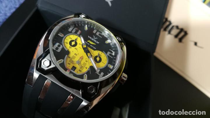 Relojes automáticos: RELOJ DEPORTIVO ,DE QUARTZ, VICEROY COLECCIÓN FERNANDO ALONSO F1, GRANDE, EDICIÓN ESPECIAL - Foto 20 - 158479642