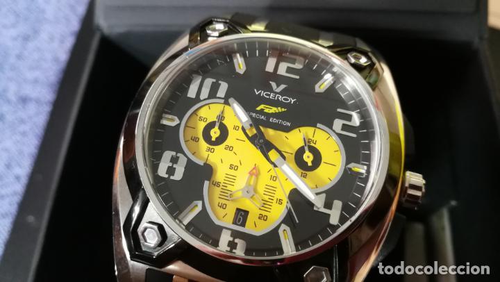 Relojes automáticos: RELOJ DEPORTIVO ,DE QUARTZ, VICEROY COLECCIÓN FERNANDO ALONSO F1, GRANDE, EDICIÓN ESPECIAL - Foto 22 - 158479642