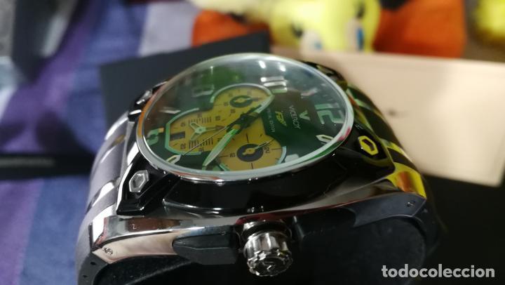 Relojes automáticos: RELOJ DEPORTIVO ,DE QUARTZ, VICEROY COLECCIÓN FERNANDO ALONSO F1, GRANDE, EDICIÓN ESPECIAL - Foto 27 - 158479642