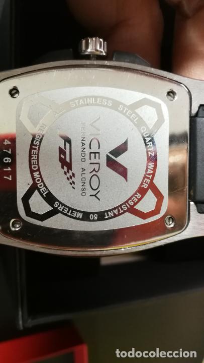 Relojes automáticos: RELOJ DEPORTIVO ,DE QUARTZ, VICEROY COLECCIÓN FERNANDO ALONSO F1, GRANDE, EDICIÓN ESPECIAL - Foto 38 - 158479642
